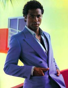 Philip Michael Thomas AKA Ricardo Tubbs of Miami Vice.  No cop show comes close in the coolness factor.