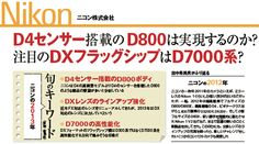 Impress magazine predicts a Nikon D800 styled body with the 16MP sensor from the D4 in 2013