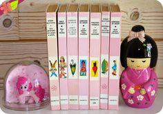 Mes anciens livres de la Bibliothèque Rose Frederique, Lectures, Disney, Reading, Vintage, Green Library, Childhood Memories, Knowledge, Livres