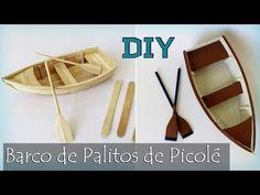 DIY: How to Make a Boat with Popsicle Sticks - Fairy Lights Terrace Popsicle Stick Crafts House, Popsicle Sticks, Craft Stick Crafts, Balsa Wood Models, Boat Crafts, Diy Diwali Decorations, Make A Boat, Pop Stick, Diy Envelope