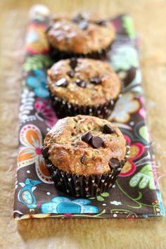 Peanut Butter & Dark Chocolate Breakfast Muffins - Imgur