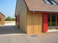 La Bonne Maison in France. Planed Thermowood® D Pine. Architect: L'Agence Coste Architecture