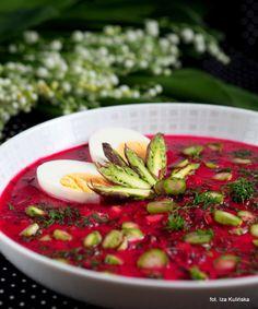 Smaczna Pyza: Zupa. Buraki. Szparagi. Botwinka bardzo wiosenna.