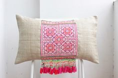 Excited to share this item from my shop: Chinese wedding blanket Boho Textile Silk Embroidered Ethnic Made Chinese miao Tradition Costume Pillow Cover Boho Pillows, Embroidered Silk, Hand Weaving, Pillow Covers, Ethnic, Chinese, Textiles, Etsy Shop, Traditional