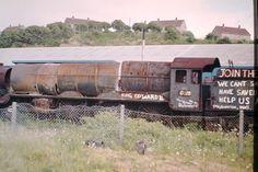 Barry Scrapyard Electric Locomotive, Diesel Locomotive, Steam Locomotive, Steam Trains Uk, Abandoned Train, Train Pictures, British Rail, Bus, Graveyards