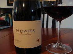 2009 Flowers Winery Pinot Noir Sonoma Coast! I just ordered 3 bottles of this... Can't wait to taste it!!!!!