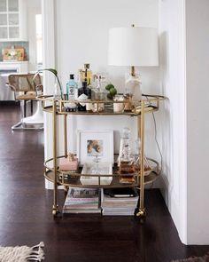 Home Decoration Living Room .Home Decoration Living Room Home Decor Styles, Cheap Home Decor, Home Decor Accessories, Bar Cart Styling, Bar Cart Decor, Gouts Et Couleurs, Bar Furniture For Sale, Furniture Ideas, Gold Bar Cart
