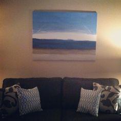 Tada! #art #livingroom #diy