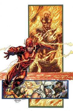 The Flash & Rogues - Brett Booth