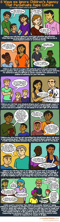 Teaching children autonomy and consent