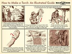 How to Make a Torch: An Illustrated Guide