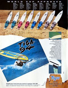 The most left one of this pretty family i still my newest 'tool of the trade'.... TIGA boards range 1994