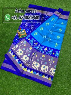 Pochampally ikkat silk sarees ,lahengas ,duppatas and ikkat cotton suits ,sarees available For orders plz msg me in WhatsApp: 9346105747 sarees # pochampally sarees sarees wear silk silk Ikkat Pattu Sarees, Pochampally Sarees, Handloom Saree, Picnic Blanket, Outdoor Blanket, Pure Silk Sarees, Ikat, Special Occasion, Pure Products