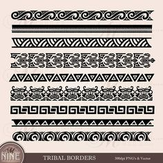 Five Things You Need To Know About Tribal Tattoo Border Designs Today Maori Tribal Tattoo, Hawaiian Tribal Tattoos, Samoan Tattoo, Maori Tattoos, Samoan Tribal, Tribal Wave Tattoos, Turtle Tattoos, Filipino Tribal, Filipino Tattoos