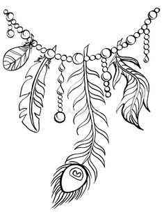145 Best Feathers + Leaves Coloring Pages for Adults
