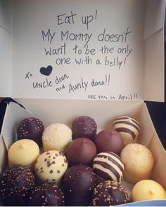 Trendy Ideas For Baby Reveal Food Babyshower