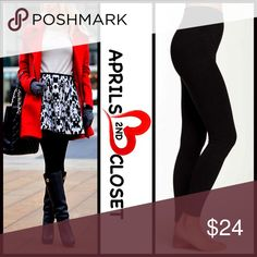 """SEAMLESS LEGGINGS SEAMLESS LEGGINGS   COLOR: BLACK ***Tagged O/S, see sizing details below ABOUT THIS ITEM * Super soft, lightweight, & comfortable * High quality construction * Ideal for layering * Stretch-to-fit * Tagged one size, approx fits 5'2""""- 5'10"""" and 110-165 LBS; 8.5"""" runs & 28"""" inseam  * Made in the USA  FABRIC 92% nylon, 8% spandex  ❌NO TRADES❌ ✅BUNDLE DISCOUNTS✅ OFFERS CONSIDERED (Via the offer button only)  ITEM-B92400 SEARCH WORDS # Boutique Pants Leggings"""