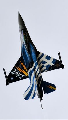 Google+ Airplane Fighter, Airplane Art, Fighter Aircraft, Fighter Jets, Military Crafts, Military Art, Hellenic Air Force, F 16 Falcon, Aircraft Painting