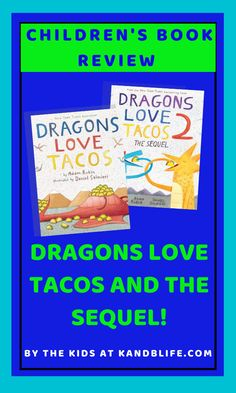 Kinley and Brecken from K and B Life both review Dragons Love Tacos AND Dragons Love Tacos: The Sequel! Find out more about these books and decide if you need to add them to your collection. Dragons Love Tacos, Book Reviews For Kids, Positive Messages, Love Book, Children's Books, Positivity, Life, Collection, Children Books