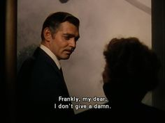 Another of my favs.  But every time I see Clark Gable I think of something I read once.  He had bad breath according to one actress who had to kiss him.