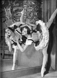 Vintage Ballet Photo