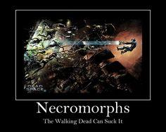 crenomorphs fan art from dead space | Necromorph Meme by ~Artistofthedamned on deviantART