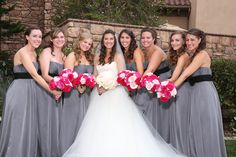 pictures of brides and bridesmaids - Google Search