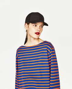 RECYCLED COTTON STRIPED SWEATER-NEW IN-TRF | ZARA Philippines