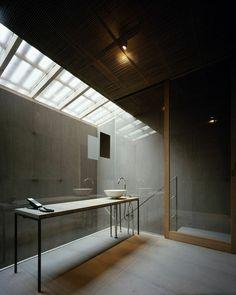 Breathtaking Bathroom. GINZAN ONSEN FUJIYA, ByKengo Kuma And Associates