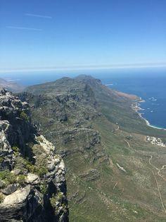 This landscape tho😍, table mountain, cape town, S. Table Mountain, Cape Town, South Africa, Mountains, Landscape, Nature, Travel, Viajes, Naturaleza