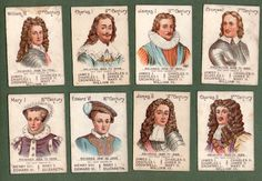 Trade Cigarette Cards Playing Cards Game Cards Our Kings Queens Mazawattee | eBay