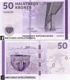 Billete - Dinamarca 2009 - 50 Coronas