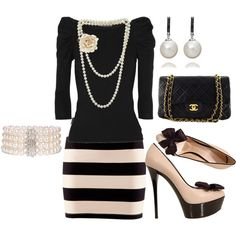 pearls, created by alicia-anderson.polyvore.com