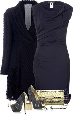 """""""In the Navy"""" by curvacious on Polyvore"""