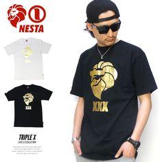 ネスタブランド NESTA BRAND Tシャツ メンズ TRIPLE X :5v3229:DEEP B系・ストリートファッション - 通販 - Yahoo!ショッピング