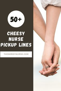 50  Cheesy Nurse Pickup Lines. Maybe it's for a date, or perhaps you just need to entertain your co-workers and friends, but good nurse pickup lines are hard to find. #thenerdynurse #nurse #nurses #pickuplines #nurselove #love #date #nursehumor Nursing Pins, Nursing Profession, Pick Up Lines Funny, Nurse Love, Pickup Lines, Everything Funny, Eye Roll, Nurse Humor, Nursing Students