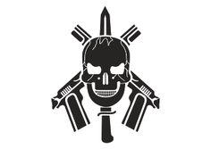 Vector logo download free: BOPE Tropa de Elite Logo Vector