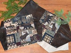 The Rocky Mountain High Table Runners & Placemats will add a rustic sense of outdoor class and woodland elegance to your traditional table setting