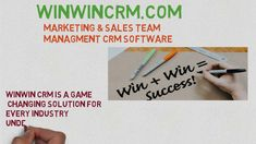 Best CRM software   CRM Solutions Sales And Marketing, Winwin, Software