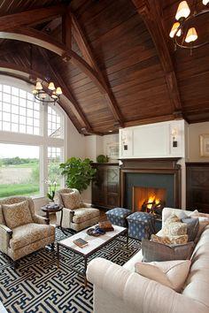 Classic East Coast Shingle Style Lakeside Cottage
