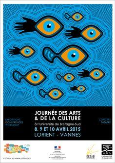 © Université de Bretagne-Sud / Service Communication Journées des arts et de la culture dans l'enseignement supérieur