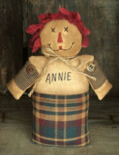 Little Annie by Thymeforprimitives on Etsy https://www.etsy.com/listing/279052304/little-annie