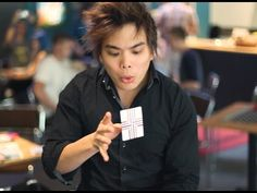 Shin Lim, Card Jam, Cardistry, Fism Act @ Magicland.se - YouTube
