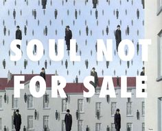 flyartproductions:  Probably won't make any money off this, oh well Golconda (1953), Rene Magritte / Haunted, Beyonce