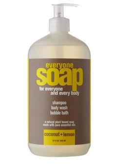 EO Everyone Soap Coconut and Lemon, 32 Ounce EO Products / Small World Trading Co.,http://www.amazon.com/dp/B0063I3R9O/ref=cm_sw_r_pi_dp_9l7gtb0CZC6DVZ27