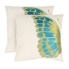 Royal Butterfly Pillow (Set of 2)   $99.99
