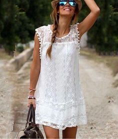 1156a365b5 US $12.99 |Aliexpress.com : Buy Women Dress Plus Size Dresses For Women 4XL  5XL 2017 European Style Summer New Lace Short Sleeve Ladies Dresses Vestido  De ...