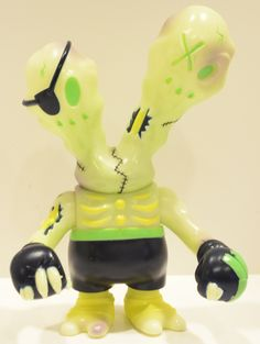 Glow-in-the-Dark Zombiefighter from my personal collection