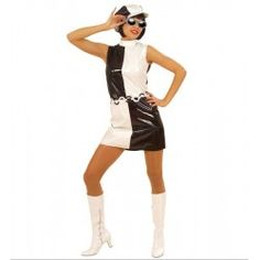Disfraz Años 60 chick