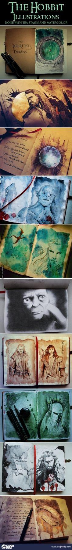 Hobbit Illustration/Art